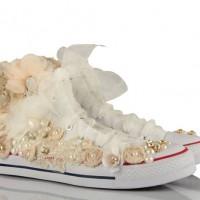 Özel Tasarım Converse Gelin Ayakkabısı Modelleri 200x200 2014 Converse Gelin Ayakkabısı Modelleri