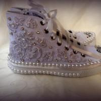 Açık Mor Converse Gelin Ayakkabısı Modelleri 200x200 2014 Converse Gelin Ayakkabısı Modelleri