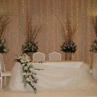 Işıklı Düğün Masası Süsleme Örnekleri 200x200 Düğün Masası Süsleme Örnekleri