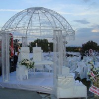 Kafes Düğün Masası Süsleme Örnekleri 200x200 Düğün Masası Süsleme Örnekleri