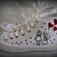 Kalpli Converse Gelin Ayakkabısı Modelleri 200x200 2014 Converse Gelin Ayakkabısı Modelleri