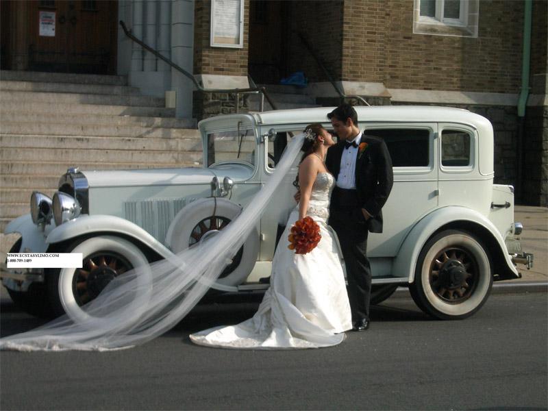 Klasik Düğün Arabası