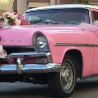 Pembe Renk Düğün Arabası Modelleri 200x200 2014 Farklı Düğün Arabası Modelleri