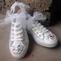 Sade Converse Gelin Ayakkabısı Modelleri 200x200 2014 Converse Gelin Ayakkabısı Modelleri