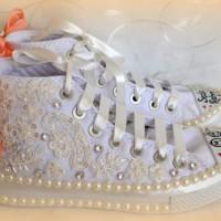 Taş Detaylı Converse Gelin Ayakkabısı Modelleri 200x200 2014 Converse Gelin Ayakkabısı Modelleri