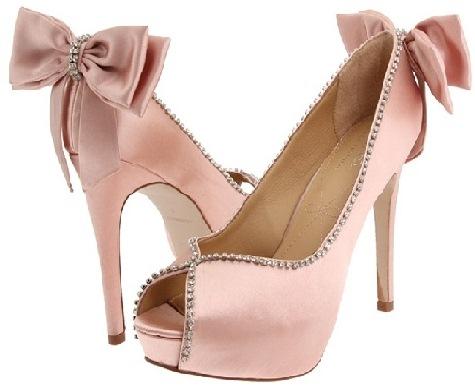 Açık Burun Pembe Gelin Ayakkabısı Modelleri Pembe Gelin Ayakkabısı Modelleri