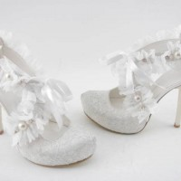 Beyaz Dantel Nişan Ayakkabısı Modelleri 200x200 Dantel Nişan Ayakkabısı Modelleri