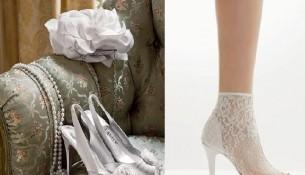 Beyaz Dantelli Nişan Ayakkabısı Modelleri