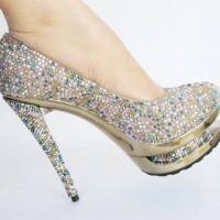Boncuklu Nişan Ayakkabısı Modelleri 200x200 Nişan Ayakkabısı Modelleri