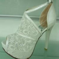 Dantel Nişan Ayakkabısı Modelleri