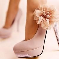 Platform Pembe Gelin Ayakkabısı Modelleri 200x200 Pembe Gelin Ayakkabısı Modelleri