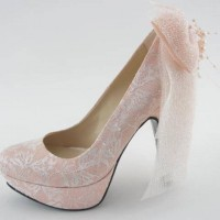 Platform Tüllü Pembe Gelin Ayakkabısı Modelleri 200x200 Pembe Gelin Ayakkabısı Modelleri