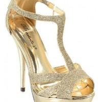Süslü Dore Renk Gelin Ayakkabısı Modelleri 200x200 Dore Renk Gelin Ayakkabısı Modelleri