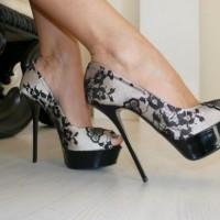 Siyah Dantelli Nişan Ayakkabısı Modelleri 200x200 Nişan Ayakkabısı Modelleri