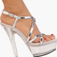 Platform Gümüş Gelinlik Ayakkabısı Modelleri 200x200 2014 Gümüş Gelinlik Ayakkabısı Modelleri