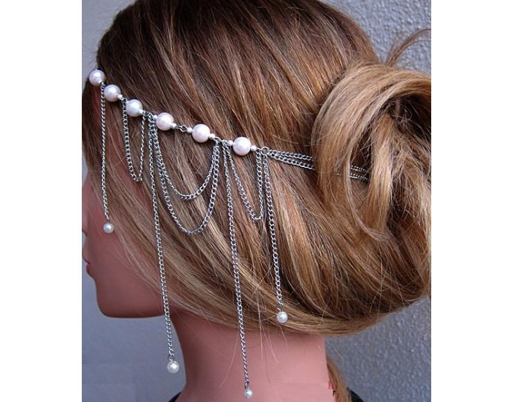 Zincirli Sıradışı Gelin Saçı Modelleri Sıradışı Gelin Saçı Modelleri
