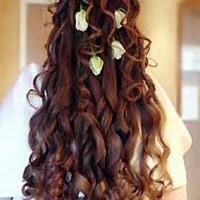 Çiçekli Uzun Gelin Saçı Modelleri 200x200 2014 Uzun Gelin Saçı Modelleri