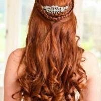 Örgülü Kızıl Gelin Saçı Modelleri 200x200 2014 Kızıl Gelin Saçı Modelleri