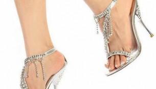 İnce Topuk Yazlık Gelin Ayakkabısı Modelleri