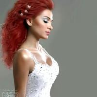 Dağınık Kızıl Gelin Saçı Modelleri 200x200 2014 Kızıl Gelin Saçı Modelleri