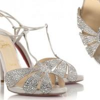 Gümüş Taşlı Yazlık Gelin Ayakkabısı Modelleri 200x200 Yazlık Gelin Ayakkabısı Modelleri