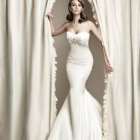 Straplez Henna Balık Etekli Gelinlik Modelleri 200x200 2014 Henna Balık Etekli Gelinlik Modelleri
