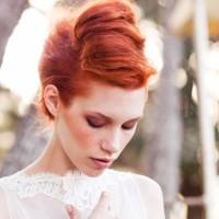 2014 Kızıl Gelin Saçı Modelleri