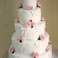 Çiçekli Katlı Düğün Pastası Modelleri 200x200 Katlı Düğün Pastası Modelleri