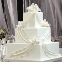 Kare Katlı Düğün Pastası Modelleri 200x200 Katlı Düğün Pastası Modelleri