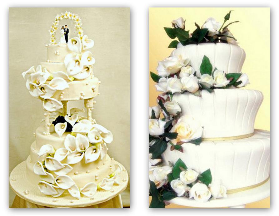 Yeni Katlı Düğün Pastası Modelleri 2014