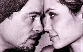 angelina jolie brad pitt gelinlik 2 Angelina Jolie'nin Gelinliği