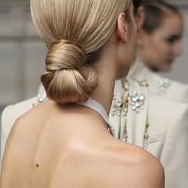 Abiye Topuz Gelin Saçı Modelleri