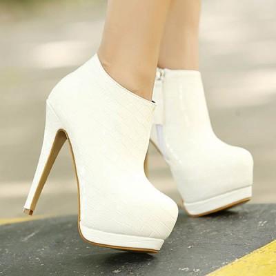 bootie gelin ayakkabi modelleri 10 400x400 Bootie Gelin Ayakkabısı Modelleri