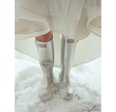 kışlık gelinlik ayakkabisi 10 400x388 Kış Gelinlerine Bot Modelleri