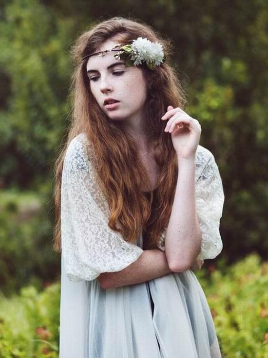 2015 Açık Gelin Saç Modelleri
