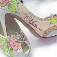 En İlginç Gelin Ayakkabıları