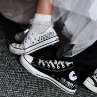 spor gelin ayakkabilari converse 4 200x200 Spor Gelinlik Ayakkabıları: Converse