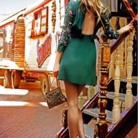 zumrut yesili abiye elbise 7 200x200 Zümrüt Yeşili Abiye Elbise