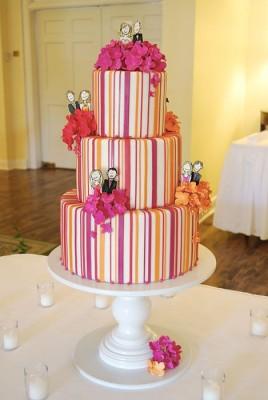 modern dugun pastasi modelleri 3 268x400 Modern Düğün Pastası Modelleri