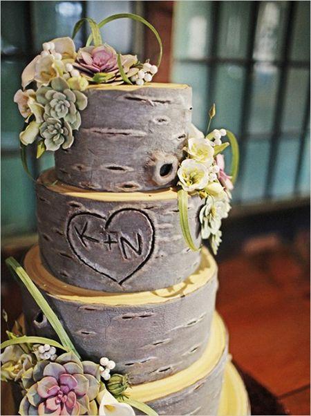 Modern Düğün Pastası Modelleri
